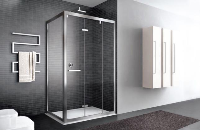 Mobili bagno moderni e classici divisione bagno for Doccia iperceramica